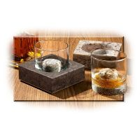 Cool Coaster & Whiskey Stone Set