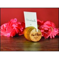 Personalized Barrel Place Card Holders