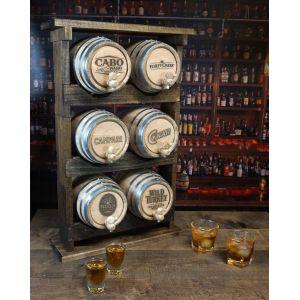 Cocktail Aging Barrel Set (6 Pack Stack)